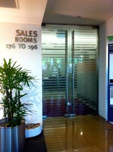 Sales rooms at HDB